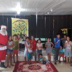O Papai Noel chegou mais cedo no Polo de Missões